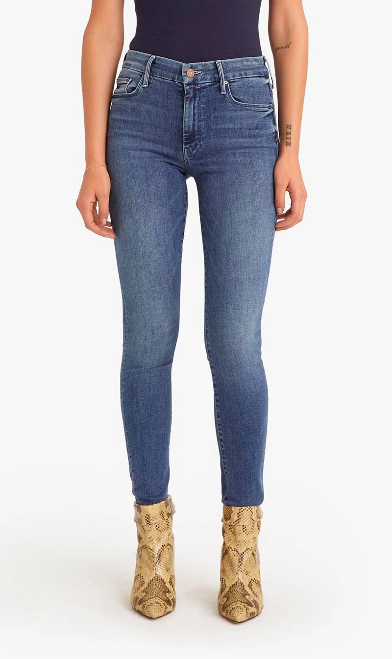 Edwards Imports Ltd Womens Jeans Mother Denim | The Looker - Groovin