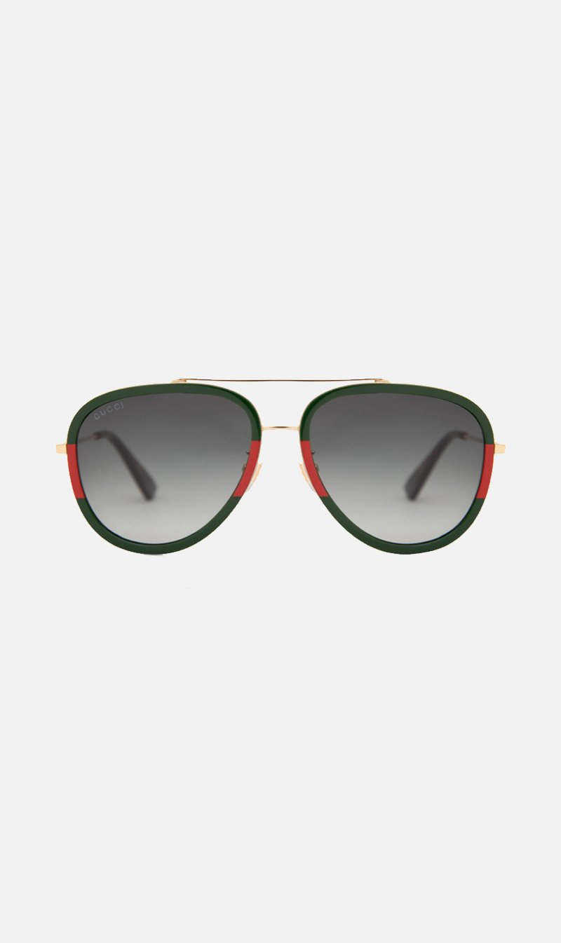 SUNSHADES EYEWEAR NZ Eyewear GOLD Gucci | GG0062S003 - Gold