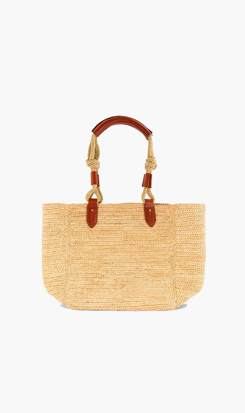 Vanessa Bruno BAG NATUREL Vanessa Bruno | Holly Cabas Tote Bag - Natural