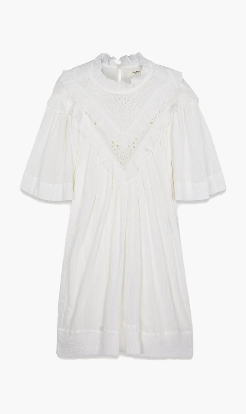 Isabel Marant Womens Dress Isabel Marant Etoile | Inalio Dress - White