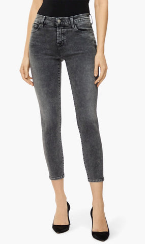 J Brand | 835 Mid Rise Cropped Skinny Jeans - Hook Up