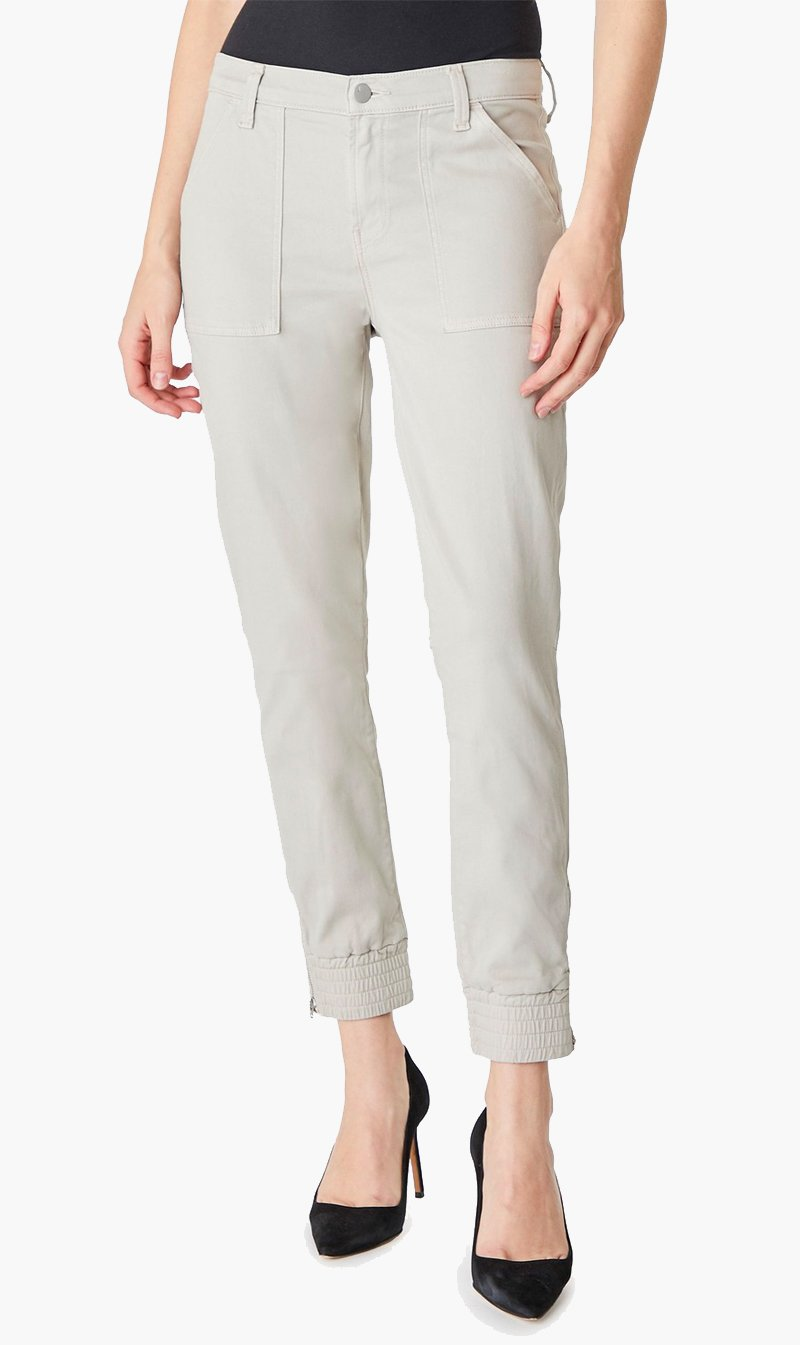 Edwards Imports Ltd Womens Pants J Brand | Arkin Zip Ankle Jogger - Driftwood