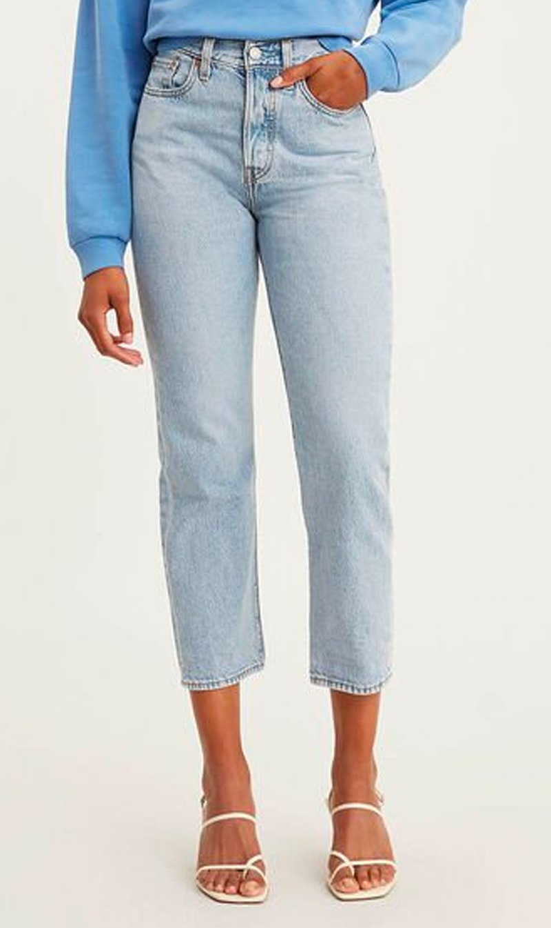 LEVI STRAUSS (NEW ZEALAND) LTD Womens Jeans Levi's | Wedgie Straight - Montgomery Baked