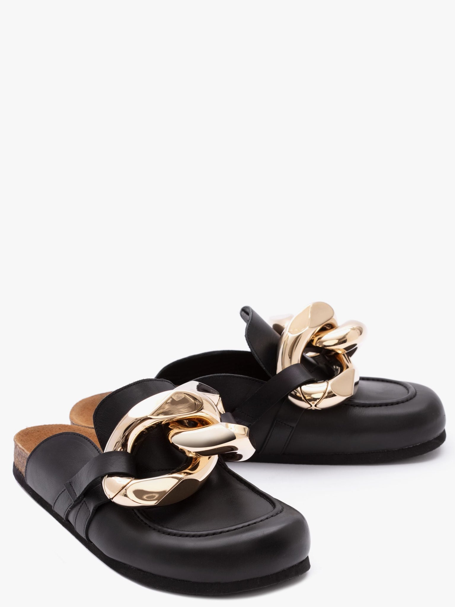 HIM Co S.p.A. SHOE JW Anderson | Chain Loafer Mules - Black