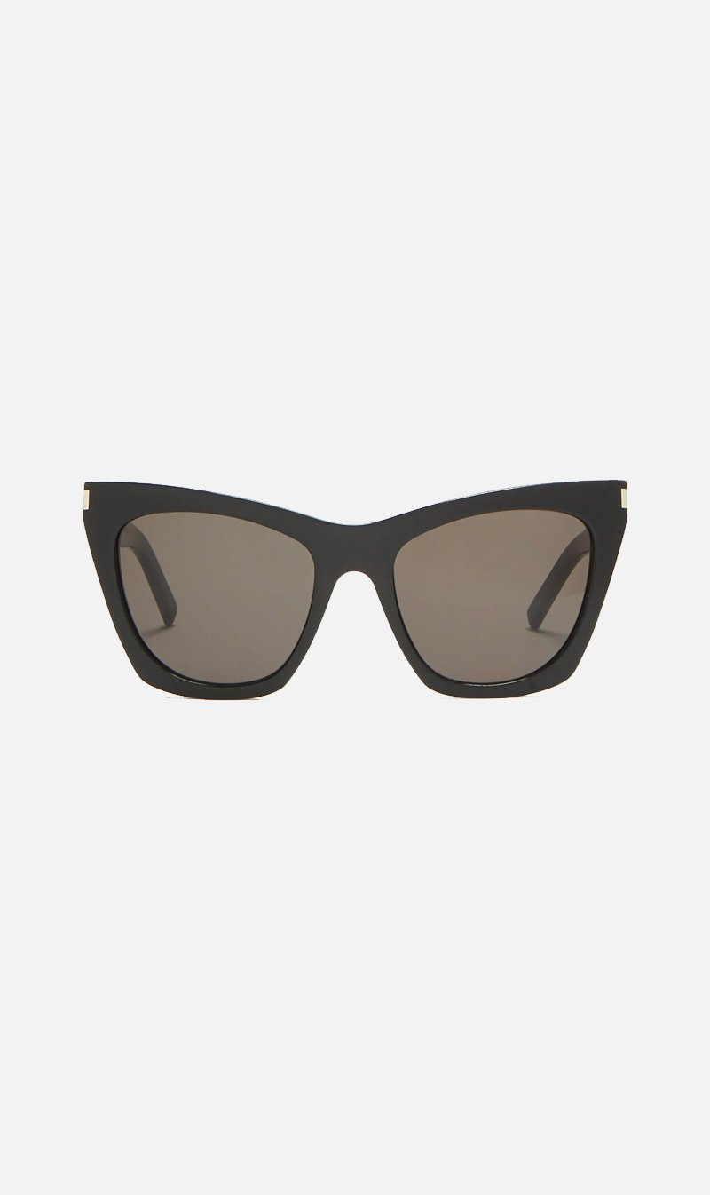SUNSHADES EYEWEAR NZ Eyewear BLACK Saint Laurent | SL214 Kate - Black