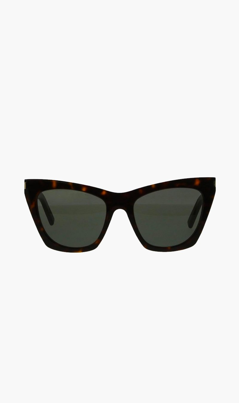 SUNSHADES EYEWEAR NZ Eyewear HAVANA Saint Laurent | Kate - Havana
