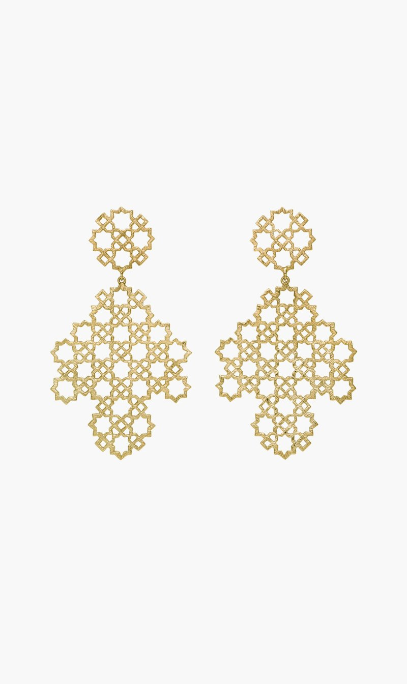 Zoe & Morgan Jewellery GOLD Zoe & Morgan | Ketama Earring - Gold