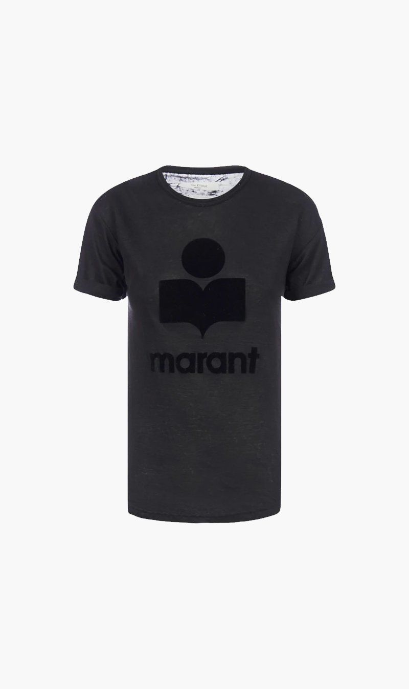 Isabel Marant Womens Tops Isabel Marant | Koldi Tee Shirt - Black