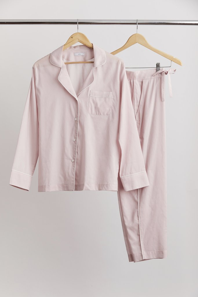LAING Womens Tops Laing | Frank PJ Set - Dusty Pink