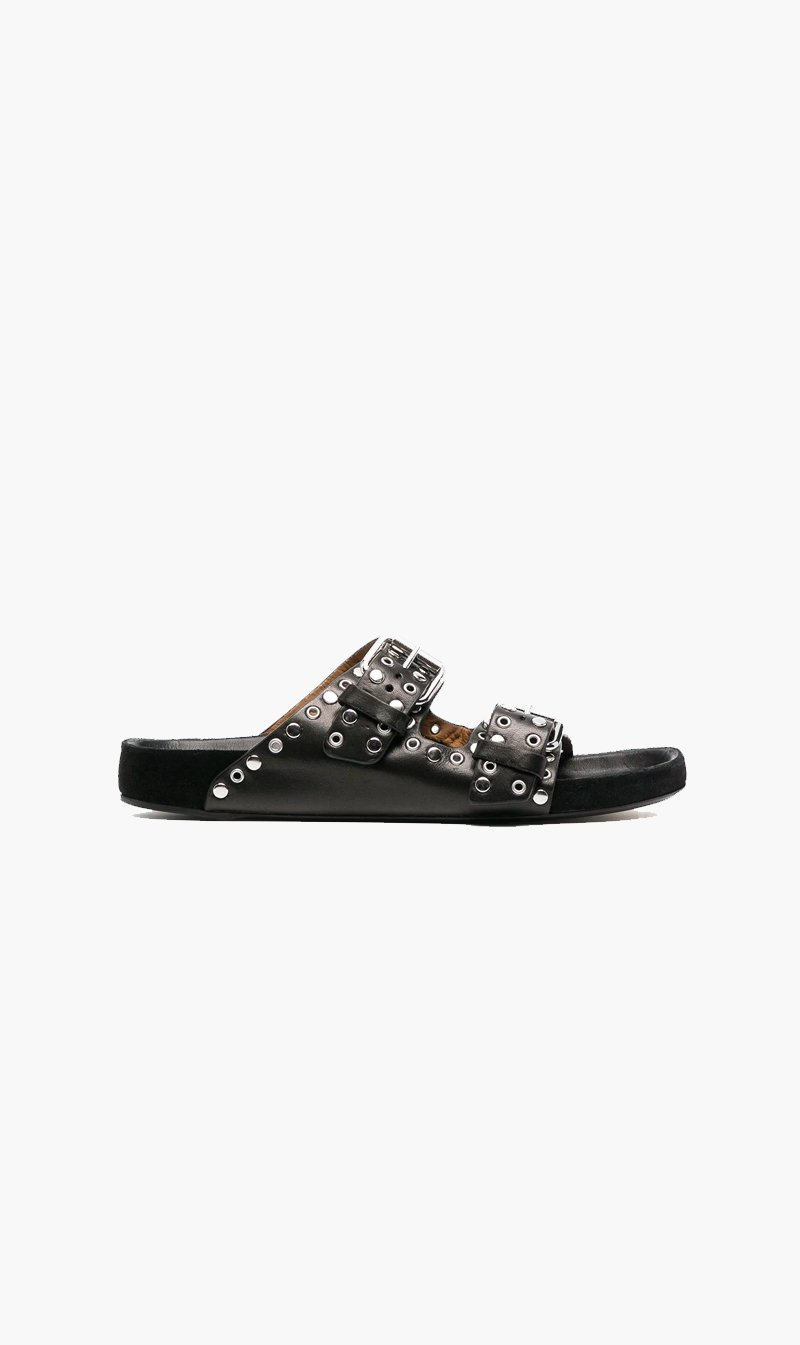 Isabel Marant SHOE Isabel Marant | Lennyo Sandals - Black Stud