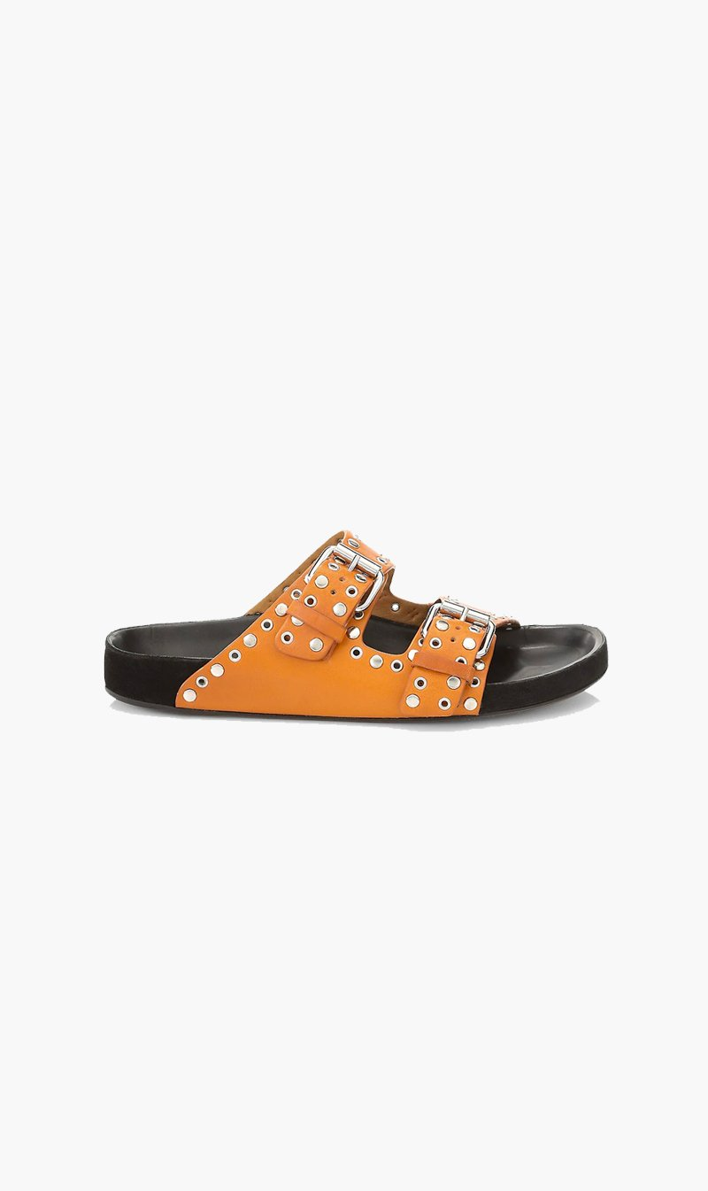 Isabel Marant SHOE Isabel Marant | Lennyo Sandals - Natural Stud