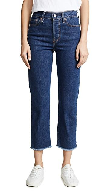 LEVI STRAUSS (NEW ZEALAND) LTD Womens Jeans DENIM / 24 Levis | Wedgie Straight Below The Belt- Denim