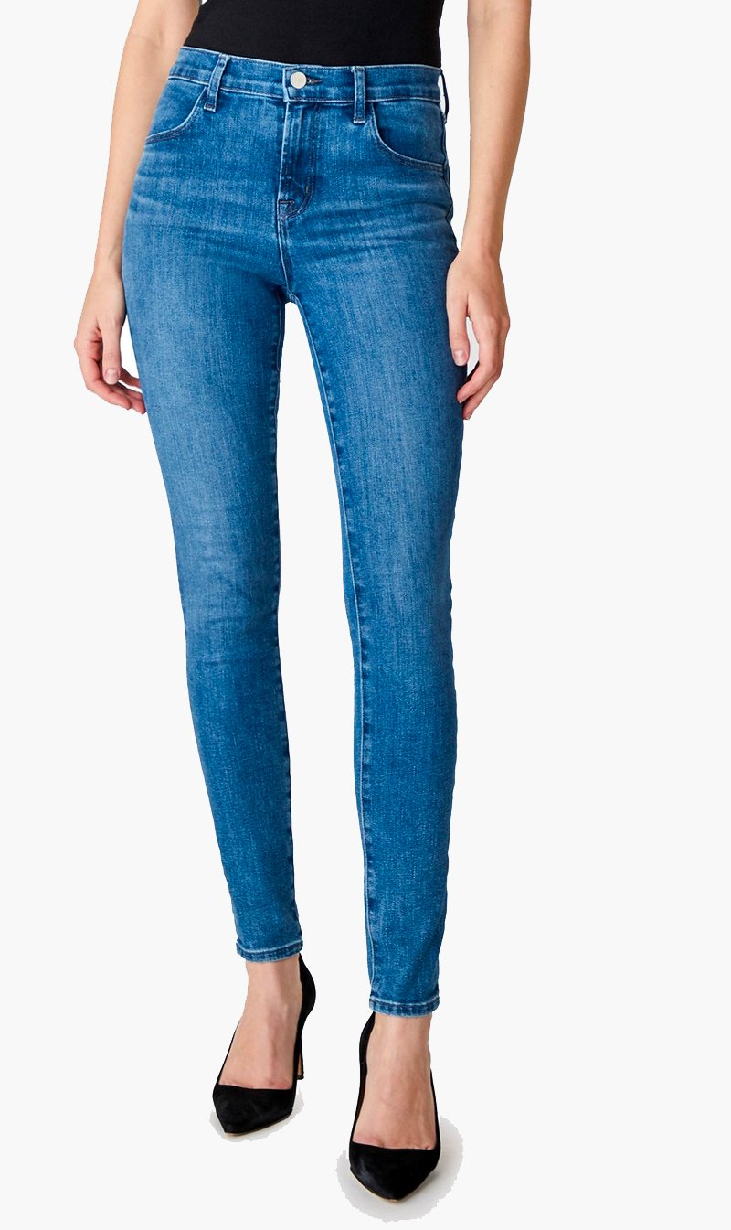 Edwards Imports Ltd Womens Jeans J Brand | Maria High Rise Skinny - Heart