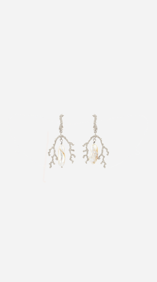 Zoe & Morgan | Mutiara Earrings - Silver