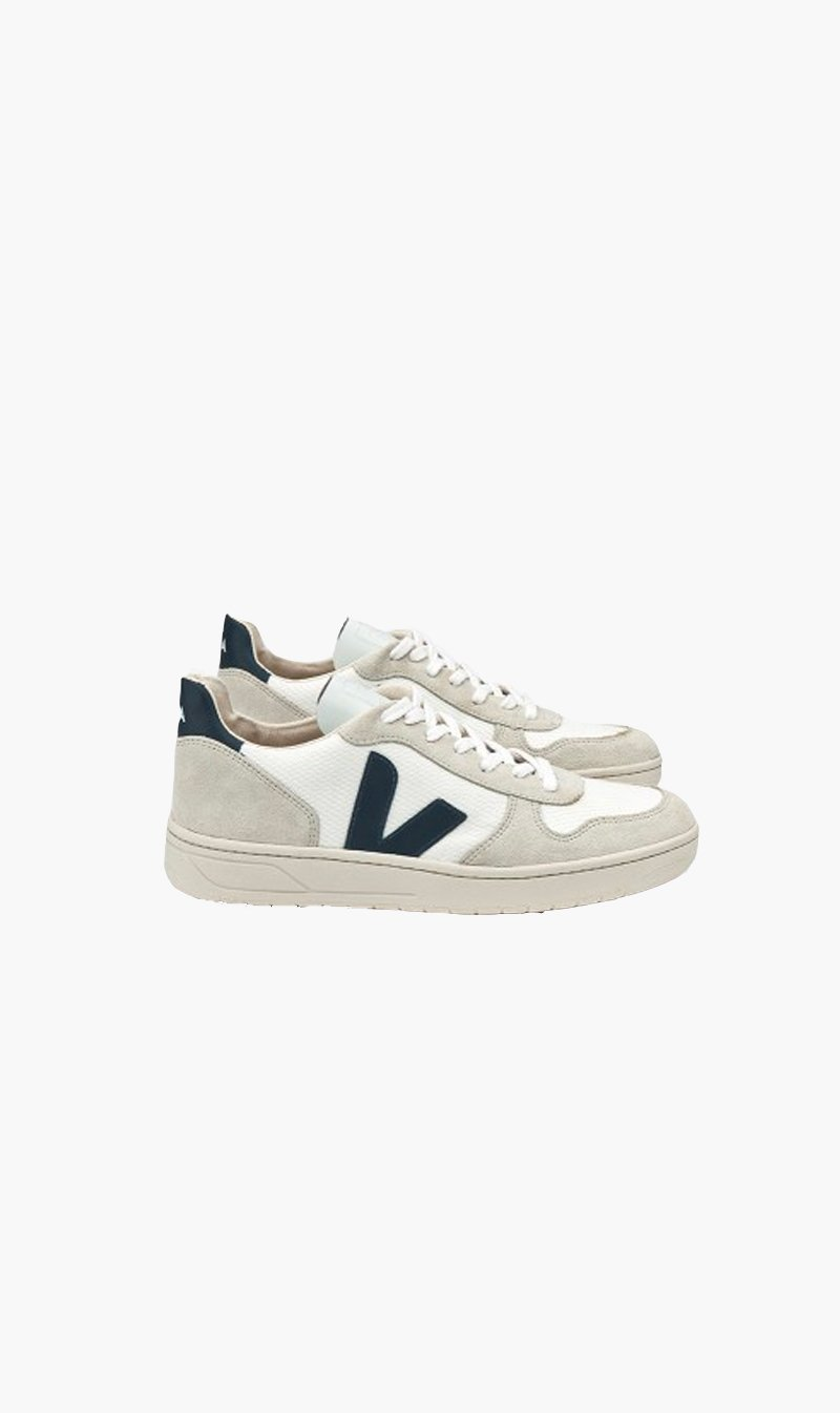 Good As Gold Distribution SHOE Veja | V10 BMesh - White/Nautico