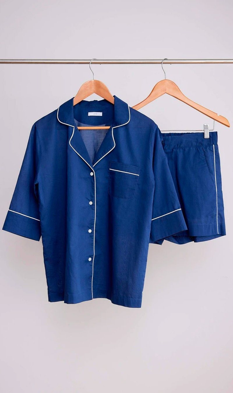 LAING Sleepwear Laing Home | Billie PJ Set - Navy
