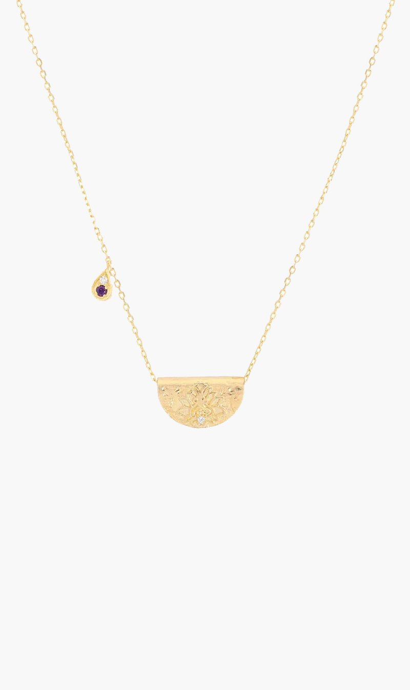 By Charlotte Jewellery GOLD By Charlotte | Awaken Your Senses Necklace - Gold