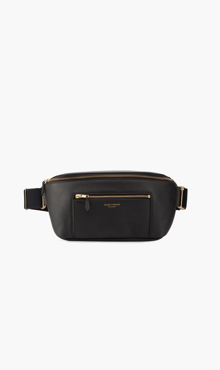 DEADLY PONIES BAG BLACK Deadly Ponies | Nimbus Belt Bag - Black