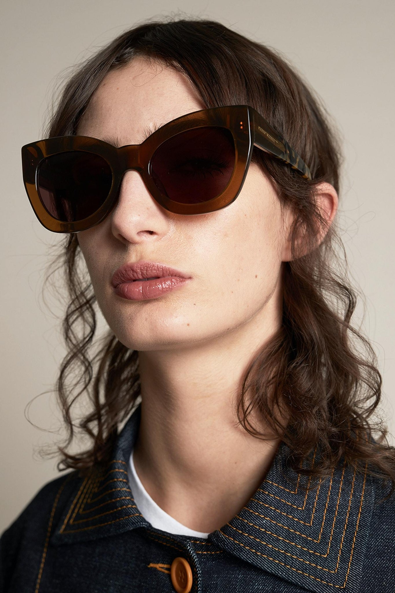 SUNSHADES EYEWEAR NZ Eyewear TANCRZYTRT Karen Walker | Northern Lights - Tan Crazy Tort