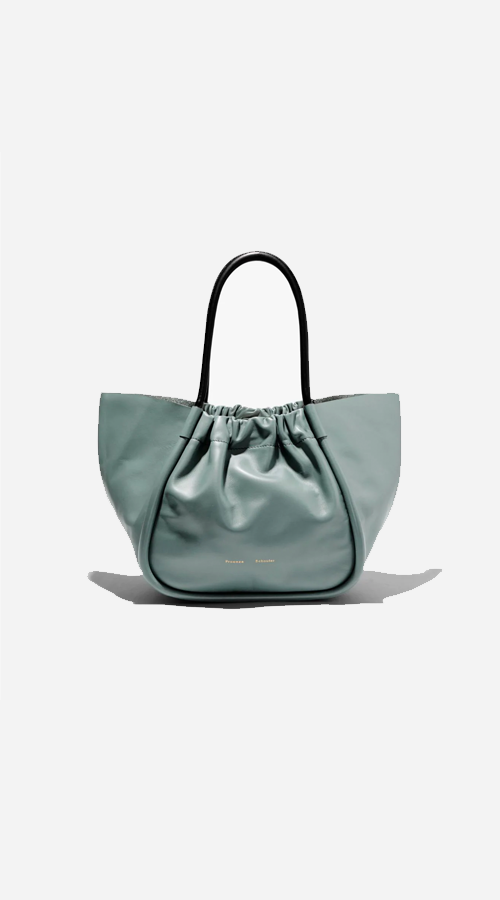 Proenza Schouler | Large Ruched Tote - Orion Blue