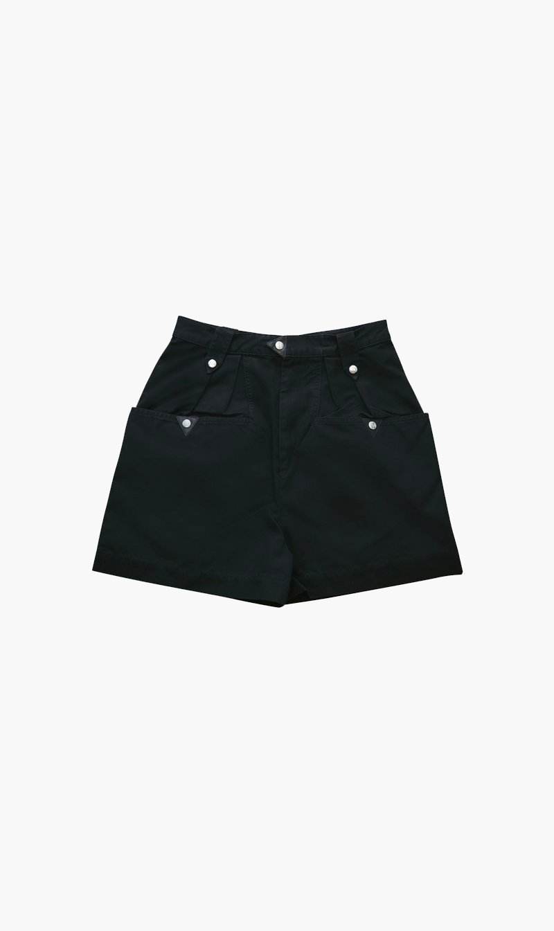 Isabel Marant Womens Shorts Isabel Marant Etoile | Palino Shorts - Faded Black