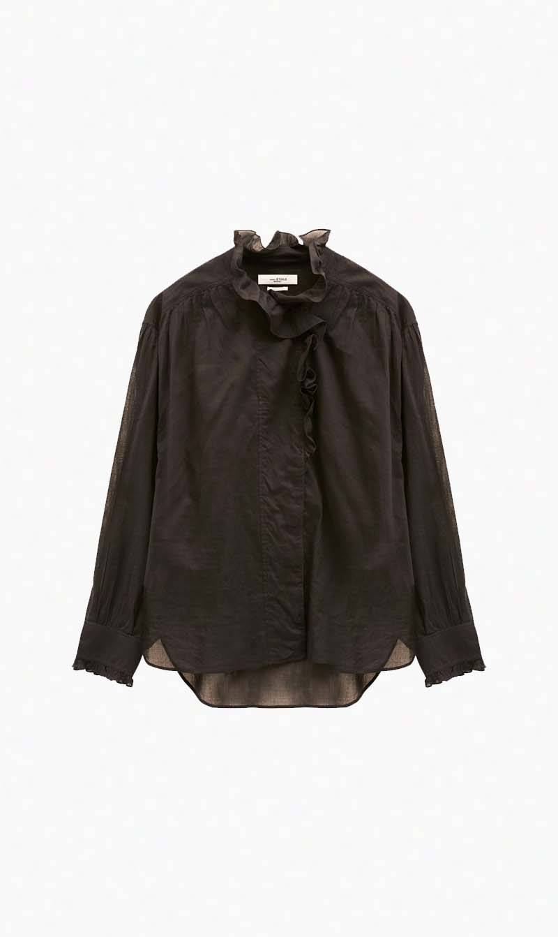 Isabel Marant Womens Tops Isabel Marant Etoile | Pamias Top - Black