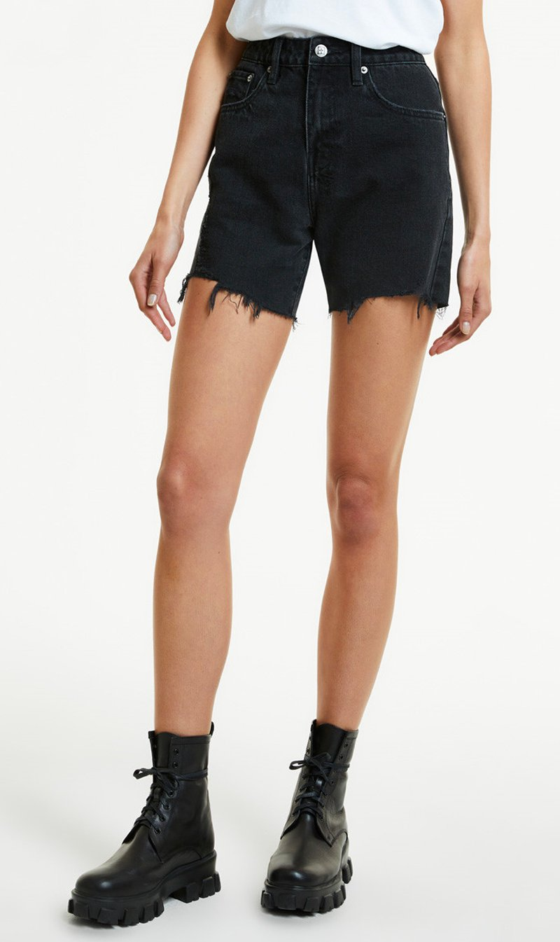 Stem Distribution Limited Womens Shorts Ksubi | Racer Short - Burnout Trashed