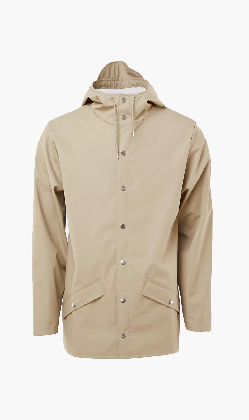 The Market Limited Womens Jacket RAINS | Jacket - Beige
