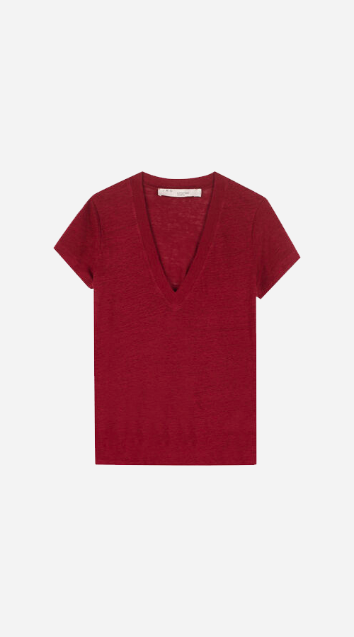 IRO | Rodeo T-Shirt - Burgundy
