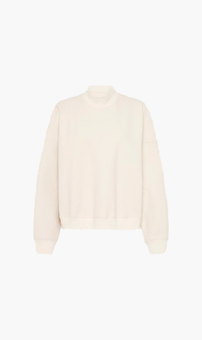 St Agni Group Pty Ltd Womens Tops St Agni | Lari Waffle Pullover - Butter