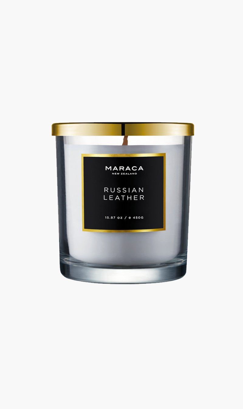 R O C CA Limited CANDLE RUSSIANLTHR Maraca | Luxury Candle - Russian Leather