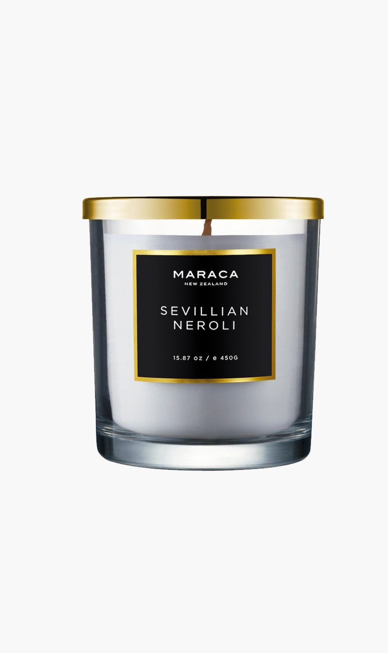 R O C CA Limited CANDLE SEVNEROLI Maraca | Luxury Candle - Sevillian Neroli