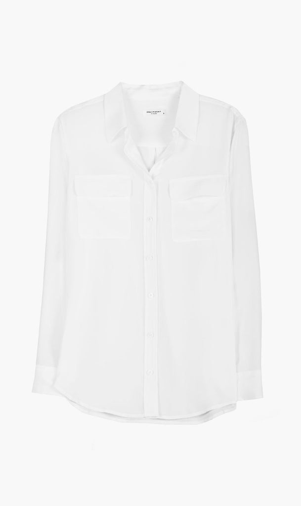 Equipment | Signature Shirt - Bright White