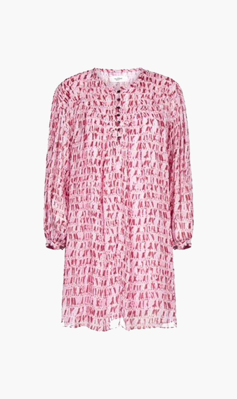 Isabel Marant Womens Dress Isabel Marant Etoile | Silorion Dress - Red