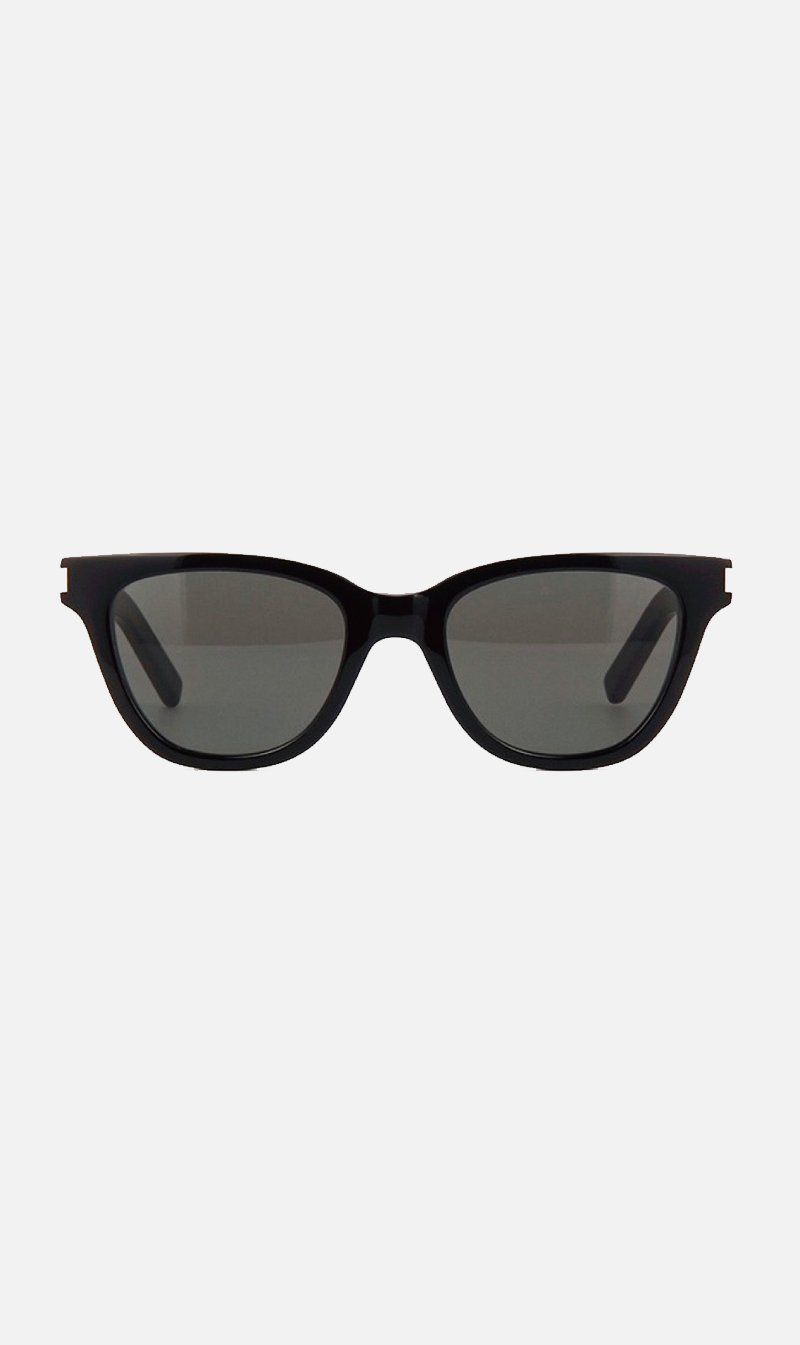 SUNSHADES EYEWEAR NZ Eyewear BLACK Saint Laurent | SL51 Small - Black