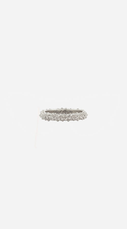 Zoe & Morgan | Komodo Stacker Ring - Silver