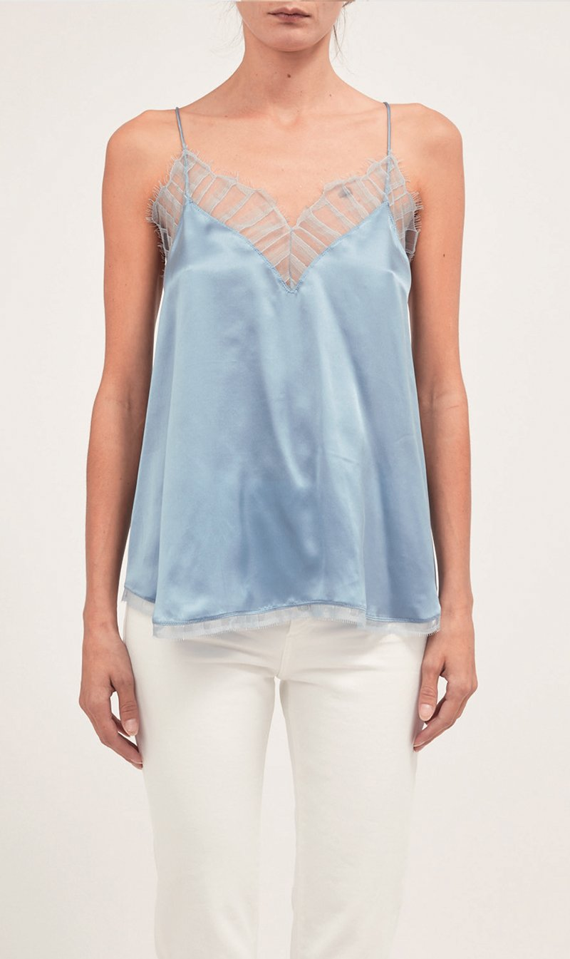 IRO Womens Tops IRO | Berwyn Top - Summer Blue