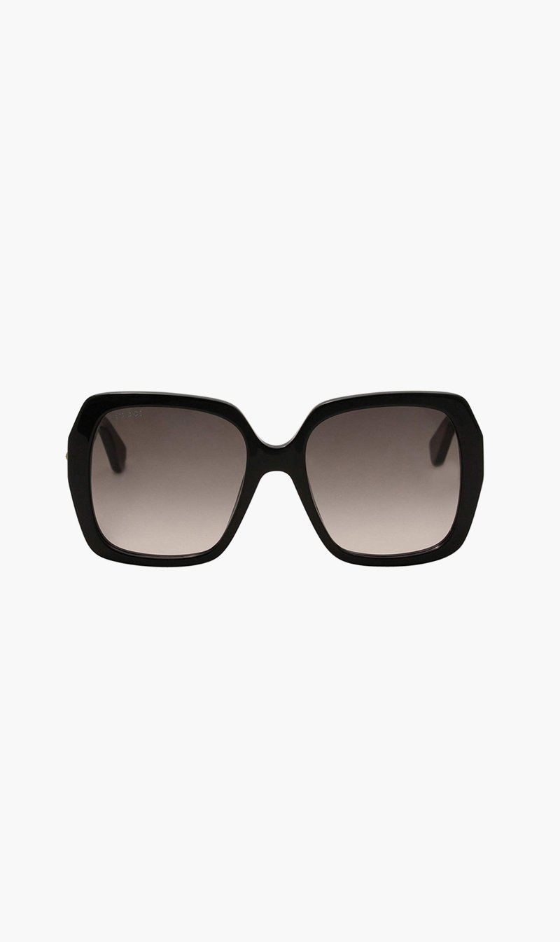 SUNSHADES EYEWEAR NZ Eyewear BLACK Gucci | 0096S001 Sunglasses - Black
