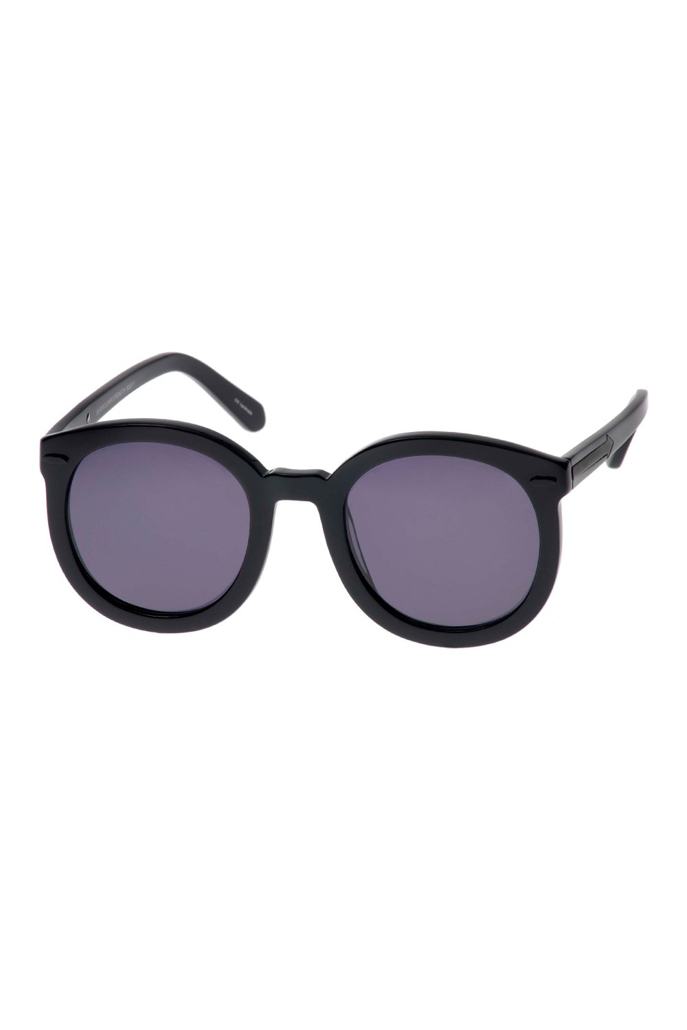 SUNSHADES EYEWEAR NZ Eyewear Black Karen Walker Eyewear | Super Duper Strength - Black