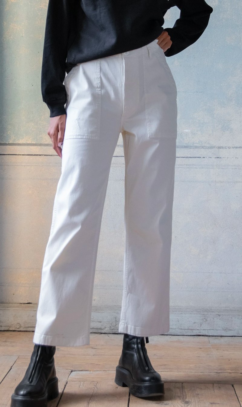 Ragdoll LA Womens Pants Ragdoll LA | Surplus Pant - Cream