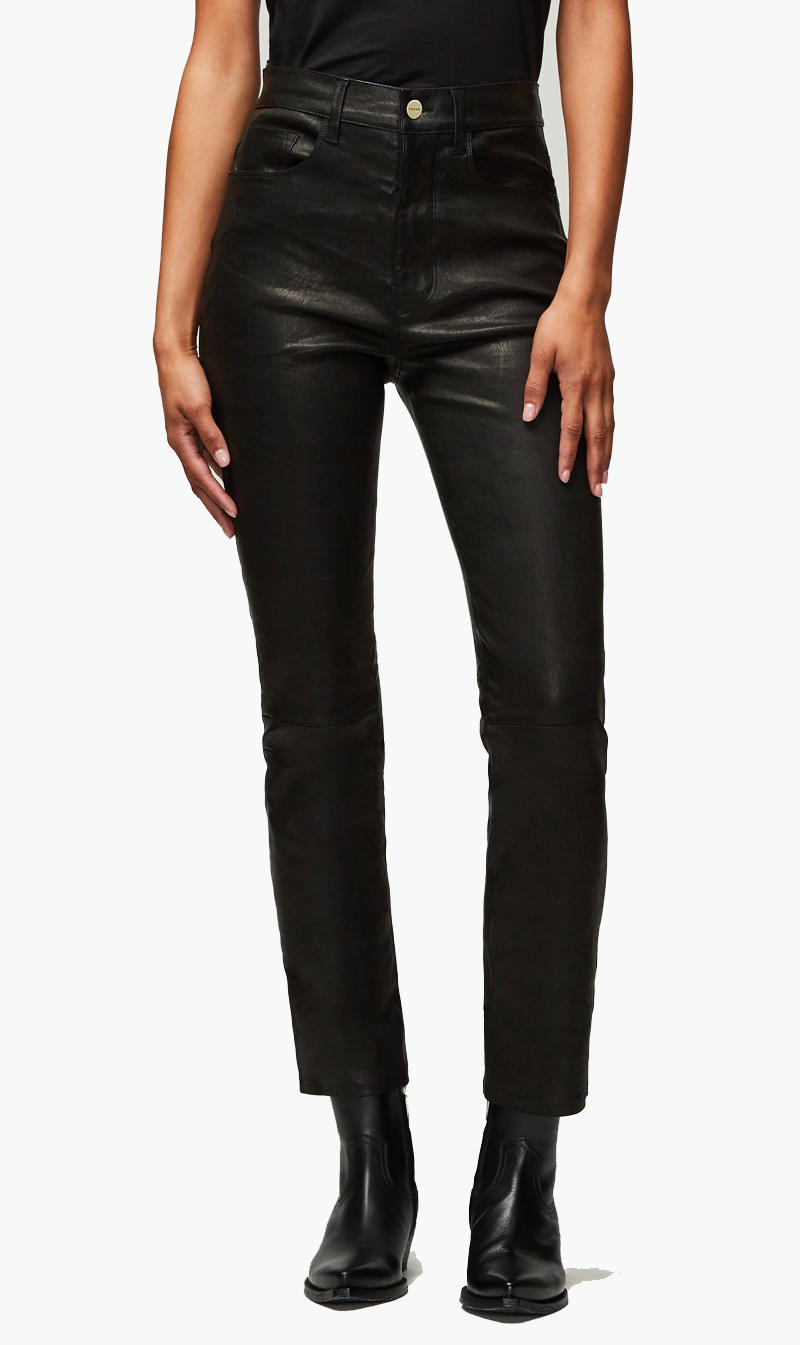 Edwards Imports Ltd Womens Pants Frame Denim | Le Sylvie - Noir