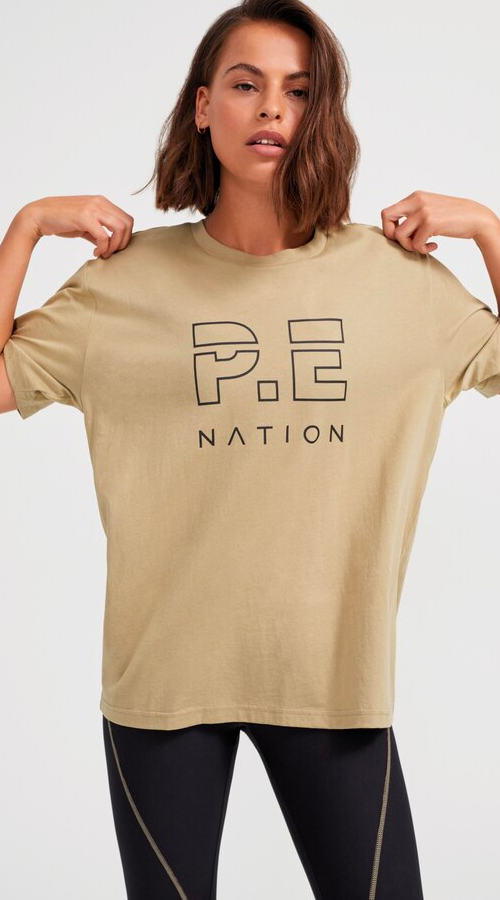 PE Nation | New Heads Up Tee - Olive