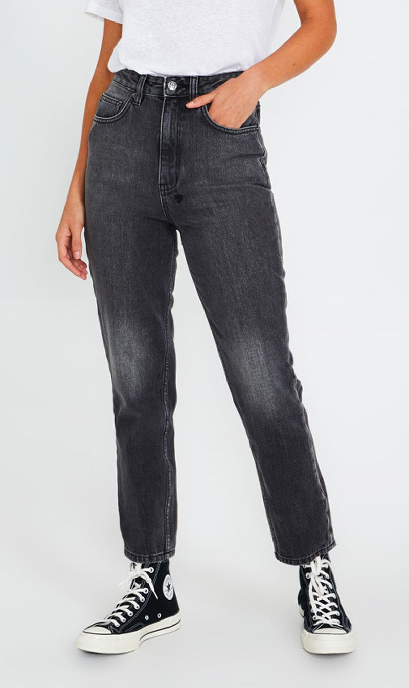 STEM DISTRIBUTION LTD Womens Jeans Ksubi | Chlo Wasted - Throwblack