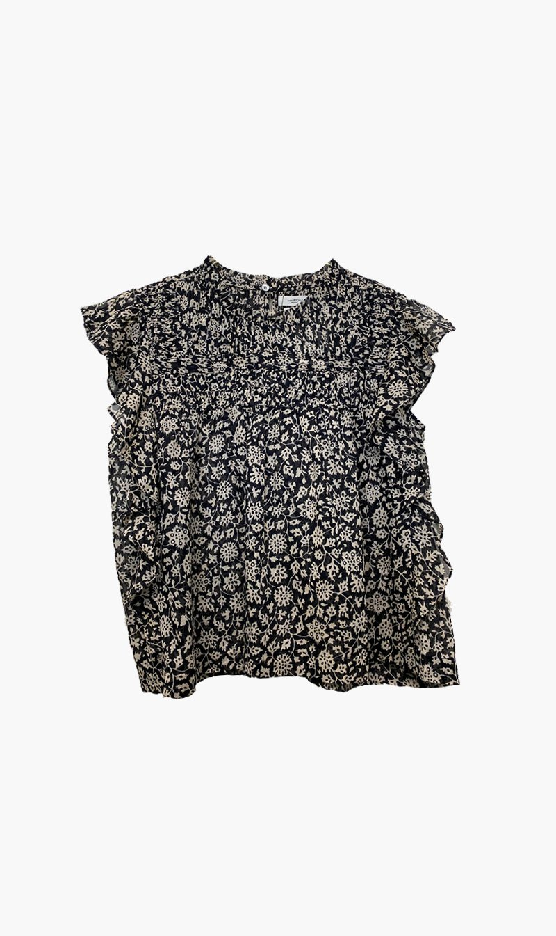 Isabel Marant Womens Tops ISABEL MARANT ÉTOILE | Layona Top - Black