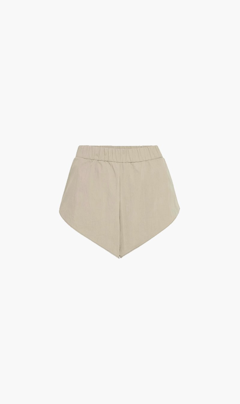 Camilla and Marc Womens Shorts C&M | Driver Track Short - Sage