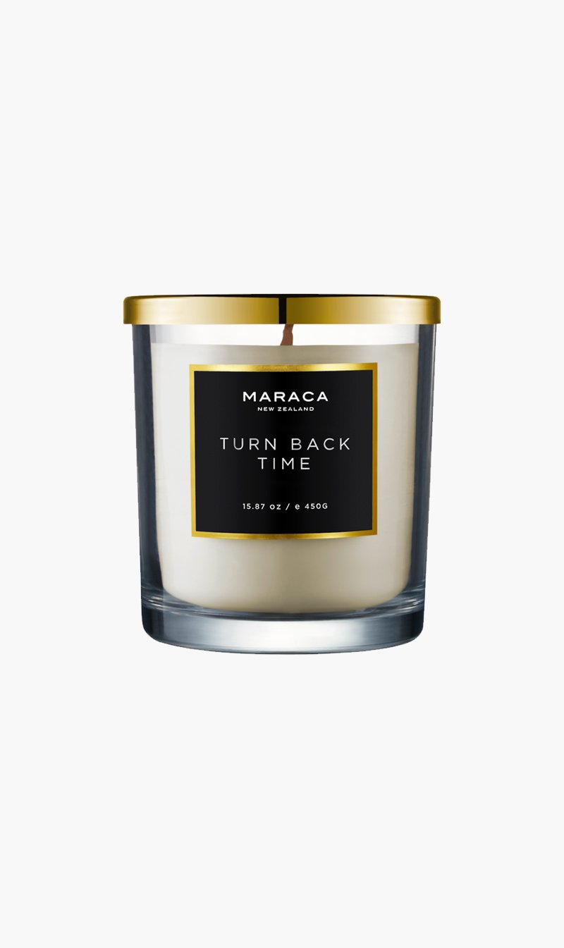 R O C CA Limited CANDLE TURNBCKTME Maraca | Luxury Candle - Turn Back Time