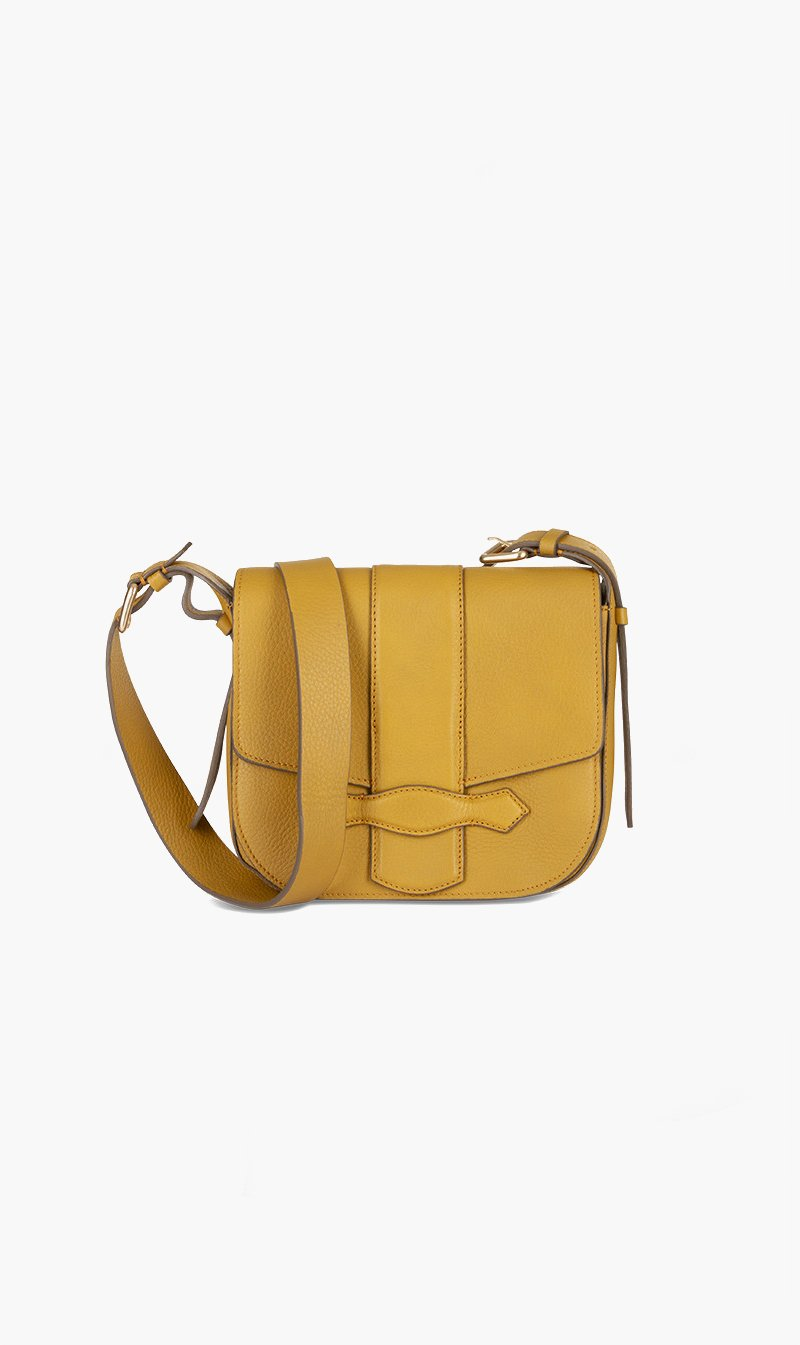 Vanessa Bruno BAG MOUTARDE Vanessa Bruno | Gemma Shoulder Bag - Mustard