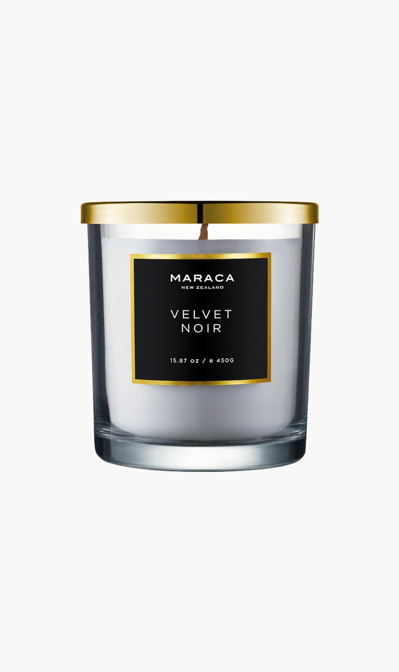 R O C CA Limited CANDLE VELVETNOIR Maraca | Luxury Candle - Velvet Noir