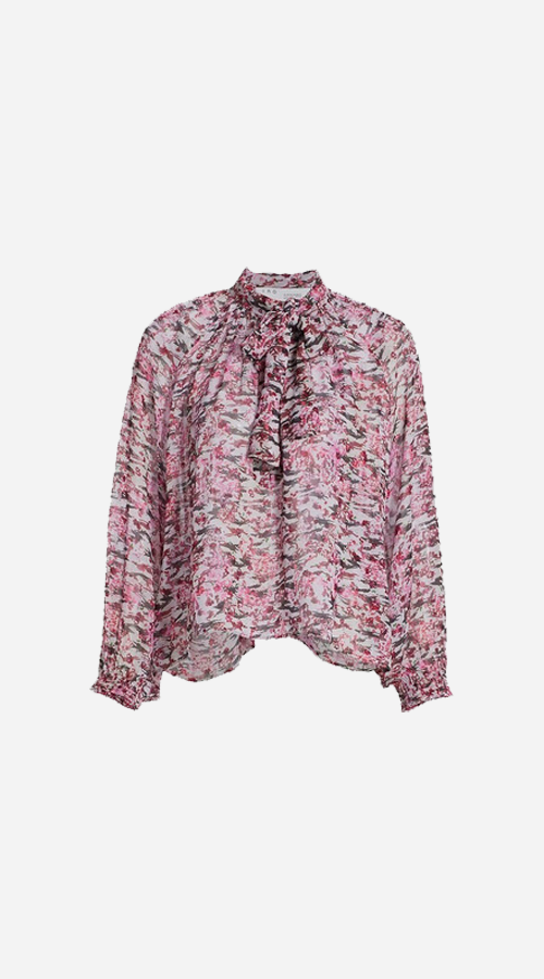 IRO | Vibrancy Top - Multicolour Pink