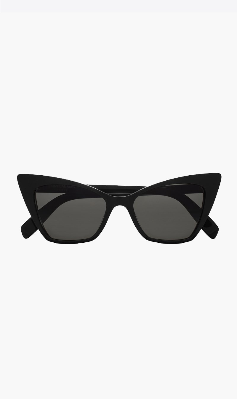 SUNSHADES EYEWEAR NZ Eyewear BLACK Saint Laurent | SL244 Victoire - Black